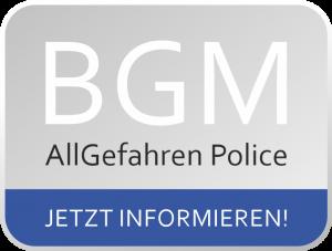 BGM AllGefahren Police